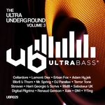 VARIOUS - Ultra Bass Records Presents/The Ultra Underground Vol 3 (Front Cover)