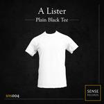 Plain Black Tee