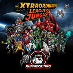 VARIOUS - The Xtraordinary League Of Junglists (Front Cover)
