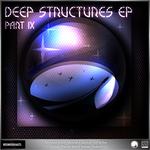 ELECTROSOUL SYSTEM/SPECTRAH/LIQUITEK/NUMMIX - V/A Deep Structures EP Part IX (Front Cover)