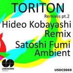 SATOSHI FUMI - Toriton Remixes Pt 2 (Front Cover)