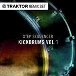 NATIVE INSTRUMENTS - Techno & House Kickdrums Vol 01 - Step Sequencer Drum Sounds (Front Cover)