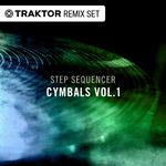 NATIVE INSTRUMENTS - Techno & House Cymbals Vol 01 - Step Sequencer Drum Sounds (Front Cover)