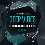 5PIN MEDIA - Deep Vibes House Kits (Sample Pack WAV/MIDI) (Front Cover)