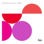 MJ COLE feat ALYSS - Undo (Front Cover)