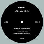 HYBOID - UFOs Over Berlin (Back Cover)