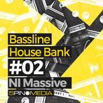 5PIN MEDIA - Bassline House NI Massive (Sample Pack Massive Presets/WAV/MIDI) (Front Cover)