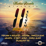VARIOUS - 11 Eleven Riddim (Front Cover)