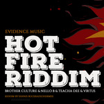 NELLO B/VIRTUS/BROTHER CULTURE/TEACHA DEE/YANNIS ROCKRADIOHERMES/LEWIS CUTLER/FABRICE LEFEBRE - Hot Fire Riddim (Front Cover)