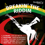 DJ MAARS/BASSCHIMP/LEYGO/COCKNEY NUTJOB/FREDY HIGH - Breakin The Riddim (Front Cover)
