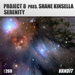 SHANE KINSELLA/PROJECT 8 - Serenity (Front Cover)
