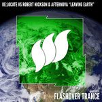 RE:LOCATE vs ROBERT NICKSON & AFTERNOVA - Leaving Earth (Front Cover)
