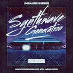 LOOPMASTERS - Synthwave Generation (Sample Pack WAV/APPLE/LIVE/REASON) (Front Cover)