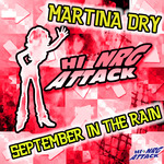 MARTINA DRY - September In The Rain (Front Cover)