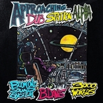 BOOM ONE SOUND SYSTEM/3000 WORLDS/B DAVIS - Approaching Dub Station Alpha (Front Cover)