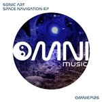 SONIC ART - Space Navigation EP (Front Cover)