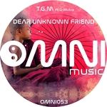 TGM feat Q-MULUS - Dear Unknown Friend LP (Front Cover)