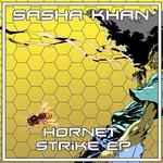 SASHA KHAN - Hornet Strike (Front Cover)