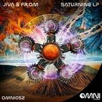 JIVA & FR.OM - Saturnine LP (Front Cover)