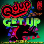 QDUP - Get Up Remixes (Front Cover)