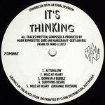 IT'S THINKING - Afterglow (Front Cover)