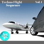 ELEKTRABEL/COREY BIGGS/YAKUZA SOUND MACHINE/PAULO BGG/EL BRUJO/MERLIN - Techno Flight Sequence Vol 1 (Front Cover)