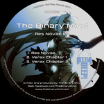 THE BINARY MIND - Res Novae (Front Cover)