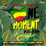ONESTY/PROMISE NO PROMISES/ELSA GREEN/PROPHECY - One Moment Riddim EP (Front Cover)