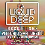 VITTORIO SANTORELLI feat CINNAMON BROWN - Give It Up (Front Cover)