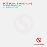 ZOE SONG & NOVALINE - Where We Belong (Front Cover)