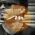 ROY DAVIS JR - Slide Feat. Robert Owens (Front Cover)