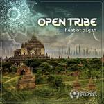 OPEN TRIBE - Heat Of Bagan EP (Front Cover)