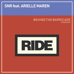SNR feat ARIELLE MAREN - Behind The Barricade (Front Cover)