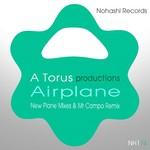 TORU S/A TORUS - Airplane (New Plane Mixes & Mr Campo Remix) (Front Cover)