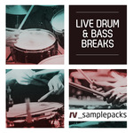 RESONANT VIBES - Live Drum & Bass Breaks (Sample Pack WAV/APPLE) (Front Cover)