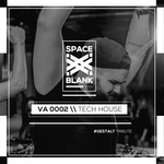 VARIOUS - Space Blank - Tech House (Front Cover)