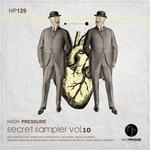 VARIOUS - High Pressure Secret Sampler Vol 10 (Front Cover)
