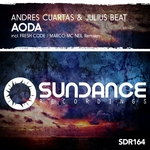 ANDRES CUARTAS & JULIUS BEAT - Aoda (Front Cover)