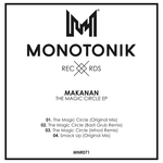 MAKANAN - The Magic Circle EP (Front Cover)