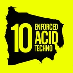 VARIOUS - 10 Enforced Acid Techno (Front Cover)