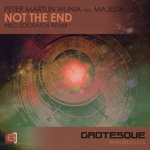 PETER MARTIJN WIJNIA presents MAJESTA - Not The End (Front Cover)