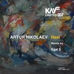 ARTUR NIKOLAEV - Real (Front Cover)