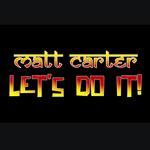 MATT CARTER - Let's Do It (Front Cover)