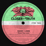 DANNY J LEWIS - Never Your Love (Front Cover)