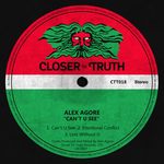 ALEX AGORE - Can't U See (Front Cover)