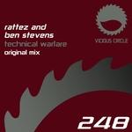RATTEZ & BEN STEVENS - Technical Warfare (Front Cover)