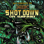 BAD COMPANY UK - Shot Down On Safari (Front Cover)