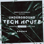 VANGELIS KOSTOXENAKIS - Underground Tech House (Sample Pack WAV/APPLE/LIVE/REASON) (Front Cover)