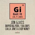 JON GLASS - Get It (Front Cover)
