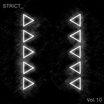 VARIOUS - Strict Vol 10 (Front Cover)